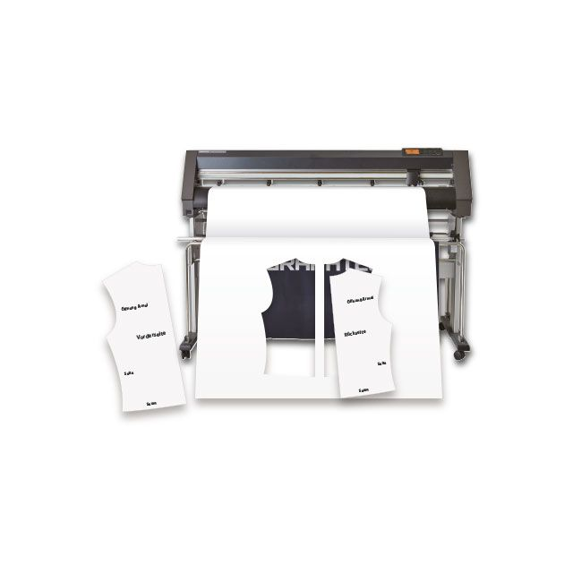CE7000-130AP Garment Pattern Cutter with Stand and Basket - Bundled Product